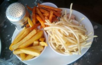 Frites: Chunky, Skinny, Sweet potatoes