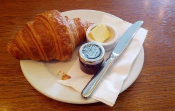 Croissant / Confiture
