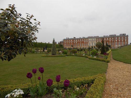Jardin à Hampton Court Palace