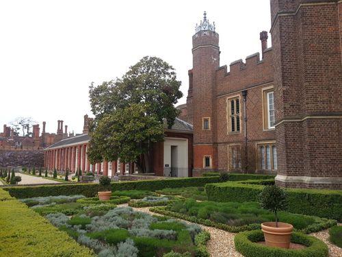 Un autre jardin à Hampton Court Palace
