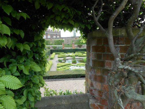 Toujours un jardin à Hampton Court Palace
