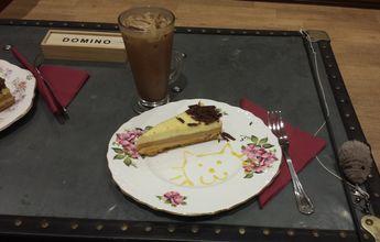 Banana toffee cake & Iced coffee mocha